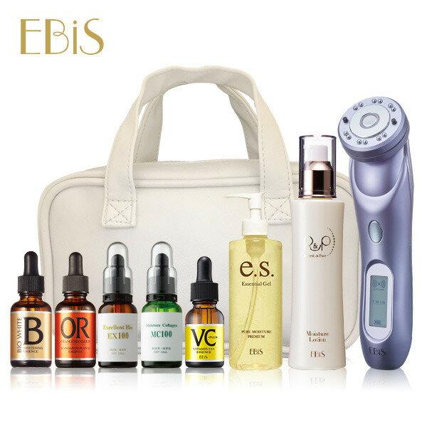 美顔器 ツインエレナイザーpro2 デラックスフルケアセット [美容原液、化粧水、美顔器ジェルが大容量の贅沢セット] ギフト 美顔機 イオン導入 イオン導入器 プレゼントにも最適