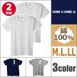 COMME CI COMME CA コムシコムサ クルーネックTシャツ 2枚組 綿100% グンゼ GUNZE 通販 グンゼ GUNZE | グンゼ GUNZE グンゼ GUNZE グンゼ
