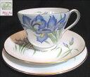 シェリーティーカップトリオ【Blue Iris】