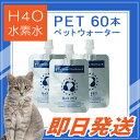 【即日出荷!】≪500円OFFクーポン≫取得可能! 『H4O PET 60本セット 水素水』ペット用...