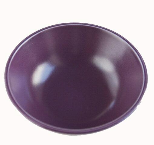 リンドスタイメストビビッドなパープル紫色カフェオレボウルシリアルボウル16.5cm