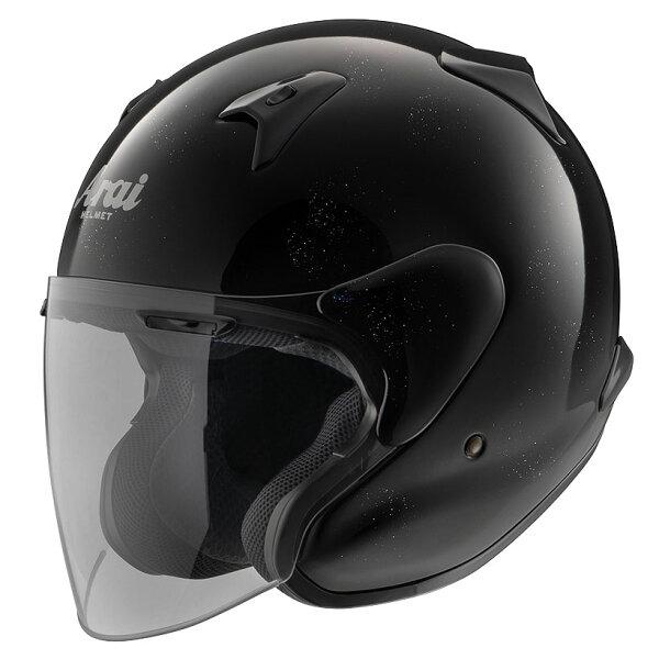 ARAIアライジェットヘルメットMZ-F(エムゼットエフ)XOグラスブラックXXLサイズ63-64cm