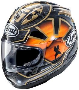 ARAI アライ フルフェイスヘルメット RX-7X RX7X (アールエックス セブンエックス) PEDROSA SAMURAI SPIRIT (ペドロサ サムライスピリット) 金 ゴールド Lサイズ 59-60cm