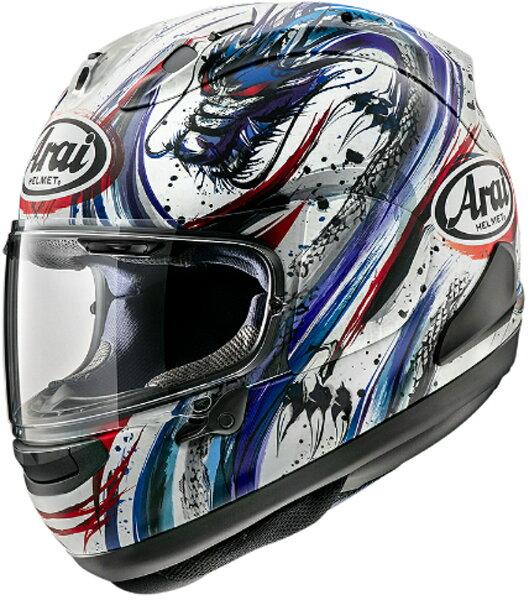 ARAIアライフルフェイスヘルメットRX-7XRX7X(アールエックスセブンエックス)KIYONARITRICO(キヨナリトリコ