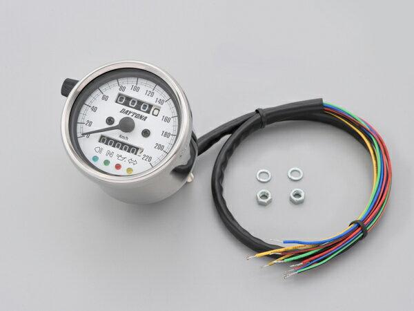 メーター, タコメーター DAYTONA () 60 LED 220kmh 15640