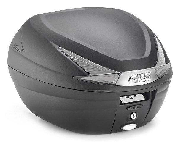 DAYTONA(デイトナ)バイク用GIVIBOX(ジビボックス)リアボックス33L未塗装ブラックTECHスモークレンズモノロック