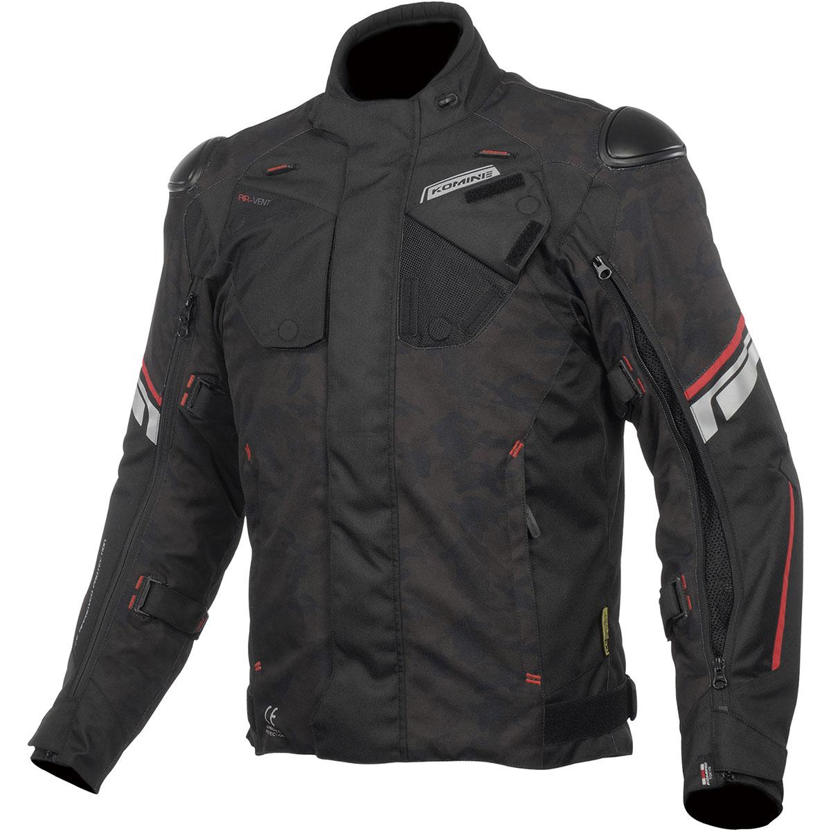 バイクウェア・プロテクター, ジャケット  (Komine) Jacket JK-598 3XL 07-598BK-CAMRD3XL