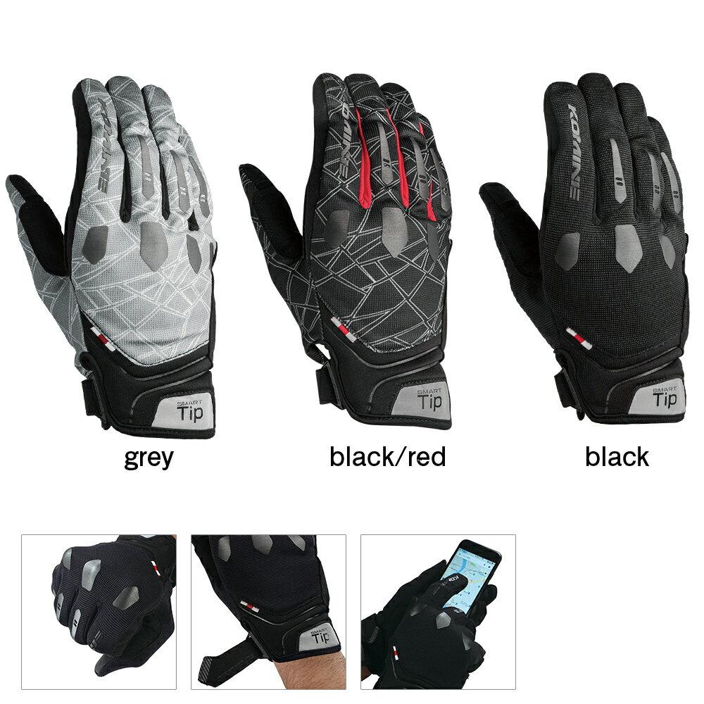 バイクウェア・プロテクター, グローブ  (Komine) Gloves GK-226 2XL 06-226BK2XL