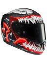 RSタイチ (RS TAICHI) バイク用 ヘルメット フルフェイス HJC MARVEL RPHA 11 VENOM 2 VENOM.2(MC1) XLサイズ HJH166RE01XL