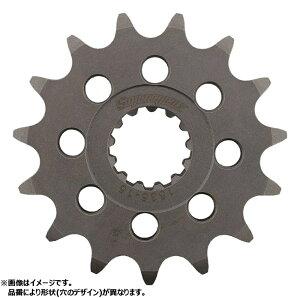 スーパースプロックス(Supersprox) バイク用 ドライブ スプロケット フロント ギアボックス (GEAR BOX) スチール 15T スチール CST-434:15.2 GRASS TRACKER(BIGBOY)