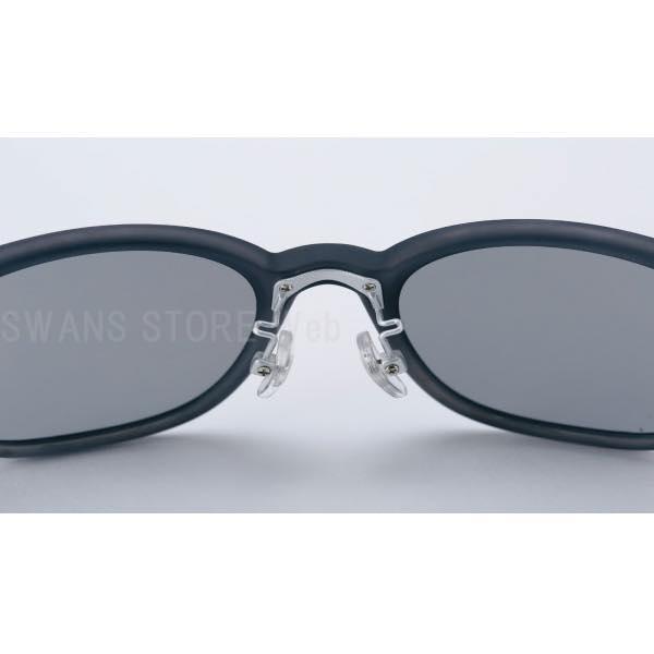 SWANS(スワンズ)サングラスPW-0001SBLU(マットスモーク×クリアブルー)DF-Pathway(ディーエフ・パスウェイ)カラーレンズモデル3137011803274