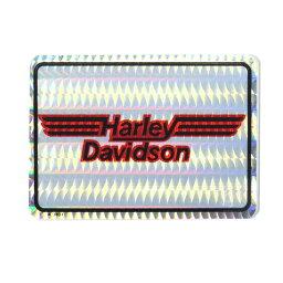 HARLEY-DAVIDSON ハーレーダビッドソン 1980-90年代 ビンテージ デッドストック ホログラムステッカー デカール (A3401) H-Dロゴ