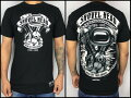 【MSF】≪FRANKYMOUSE≫プリントTシャツ『SHOVELHEAD』ショベルエンジンフランキーマウス