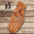 土日祝も営業!GODVALLEY本革ハンドメイド手縫いウォレットホルダーウォレットケース財布ホルダータンカービング(GV-WH-TAN3)