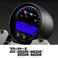 ACEWELLACE-4453AB多機能デジタルメーター9000rpmブラックボディ
