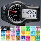 ACEWELL ACE-6652 多機能デジタルメーター 針式タコメーター 15000rmp