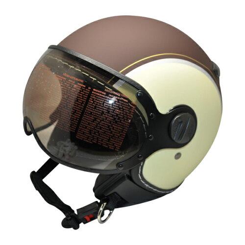 ジェット ヘルメット ZS-210KEMBRL シレックス バーキン ETERNAL マットブラウン/マ...