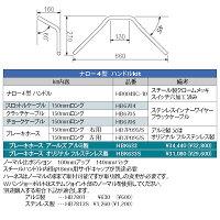ハリケーン(HURRICANE)HBK633Sナロー4型ハンドルキットカワサキゼファー400/χ/750/RS