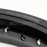 キタコKITACO06-09-000117インチアルミワイドホイールリムキット(ブラック)クロスカブ/スーパーカブ