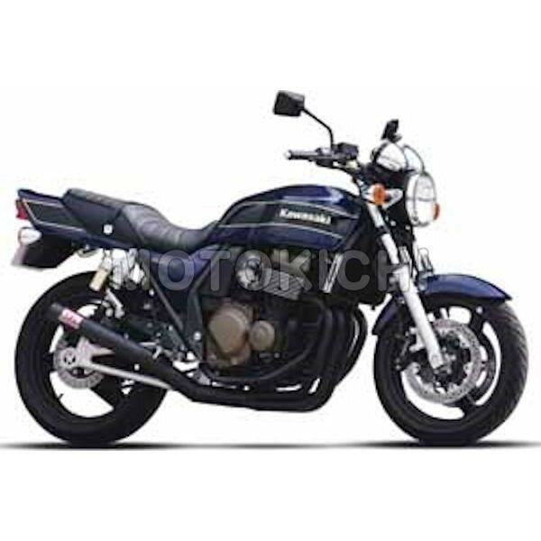 モリワキ MORIWAKI 01810-40227-20 ワンピースマフラー ブラック CAT KAWASAKI ZRX400画像