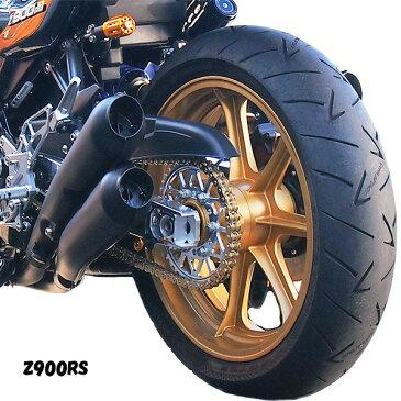 【初回限定版/50本】ドレミコレクション 35200 Z900RS 4本出しマフラー ブラック レース用 車検非対応