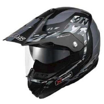 【あす楽対応】WINS X-ROAD FREE RIDE マットカモグレー Mサイズ モトクロス トレイル ヘルメット