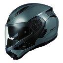 RYUKI OGKカブト リュウキ ミディアムグレー Mサイズ システムヘルメット