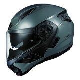 【入荷待ち】RYUKI OGKカブト リュウキ ミディアムグレー Mサイズ システムヘルメット