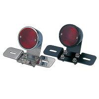 POSHヴィンテージラウンドテールランプ汎用SR400SR500090042-03:メッキ090042-06:ブラック