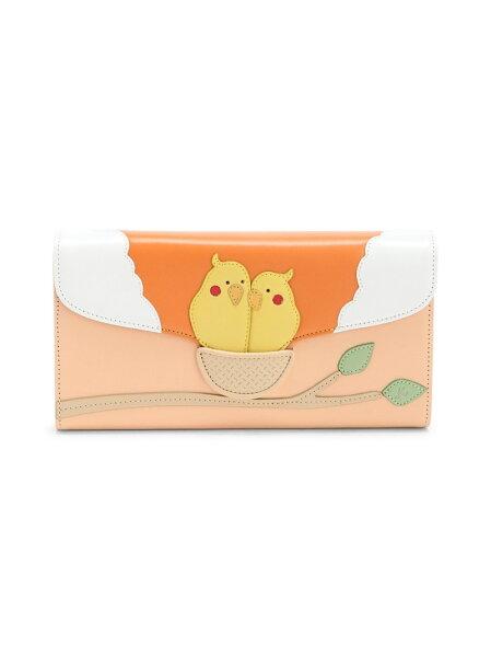 (W)長財布PH0454Kitamuraキタムラ財布/小物財布オレンジネイビーグリーン   RakutenFashion