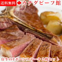ステーキ肉 数量限定 仔牛のTボーンステーキ2枚セット Tボ