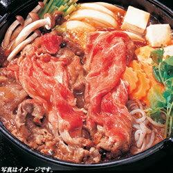 カナダビーフ・熟成すき焼き肉【すき焼き】【赤身】