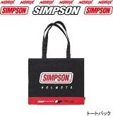 新商品SIMPSONトートバッグシンプソンのヘルメット化粧箱デザインのトートバッグサイズ縦36cm横45cmマチなし素材コットン80%ポリエステル20%NORIXシンプソンTOTEBAG