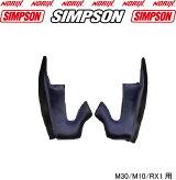 SIMPSON【チークパッドM30用】ネイビーシンプソンMODEL30