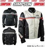 SIMPSONNSM-5シンプソンメッシュジャケットレディース2019春夏モデルNORIX