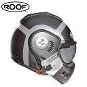 【ルーフ/ROOF】BOXER V8 BOND ボクサー ボンド チタン×シルバー マット システムヘルメット バイク【プレゼント ギフト】