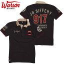 【ワーソンモータース/Warson Motors】SIFFERT 917 シフェール917 ポロシャツ メンズ 半袖 オマージュモデル