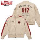 【ワーソンモータース/Warson Motors】ライトドライバー ジョーシフェール ジャケット ホワイト ル・マン オマージュ