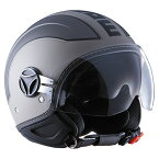 【モモデザイン/MOMO DESIGN】 AVIO PRO(アヴィオ プロ)マットグレイ×ダークグレイ ヘルメット バイク】 【アウトレット】