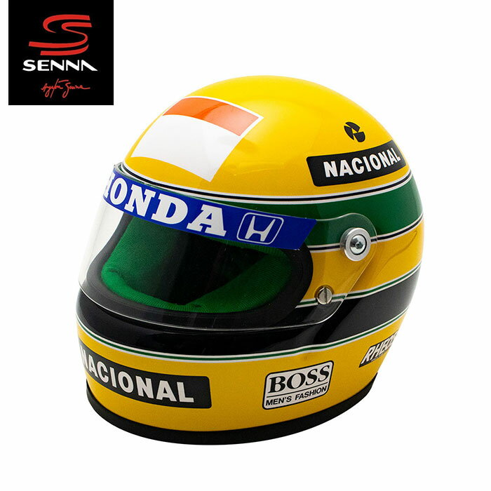 車・バイク, レーシングカー  Ayrton Senna12 1990 Ayrton Senna Helmet 1990