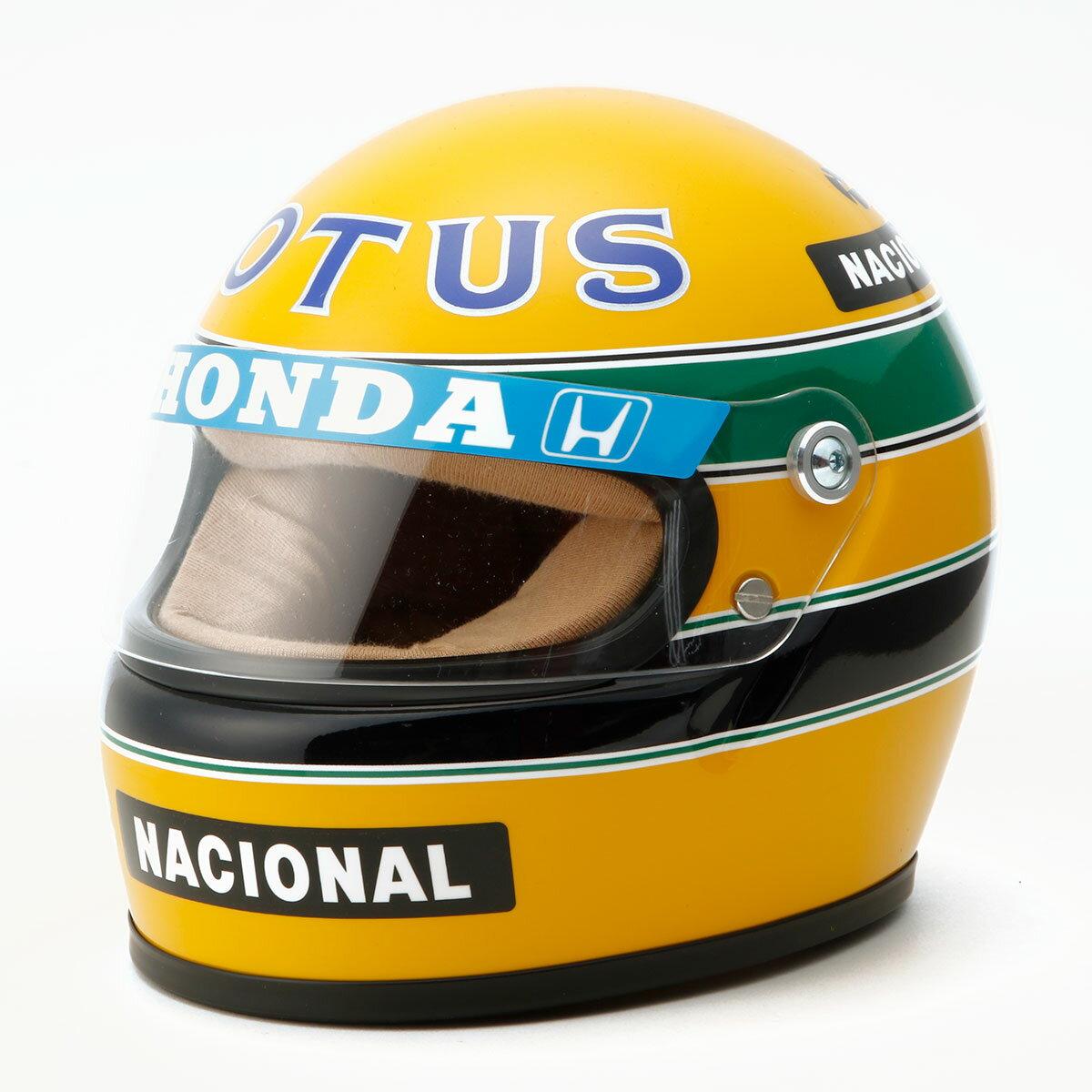 車・バイク, レーシングカー  Ayrton Senna12 1987 Ayrton Senna Helmet 1987 scale 12