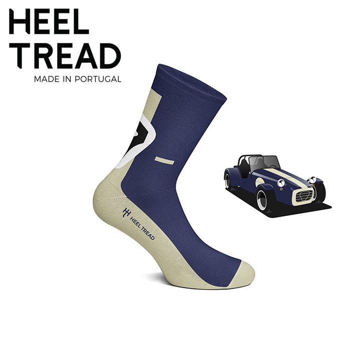 【ヒールトレッド/HEEL TREAD】SEVEN 靴下 (ロータス ケーターハム ケータハム セブン スーパーセブン チャップマン バーキン)【メール便可】