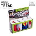 ヒールトレド HEEL TREAD WRC Official Team Livery Pack 靴下 ソックス 4足セット シトロエン ヒュンダイ フォード トヨタ GAZOOレーシング 車柄