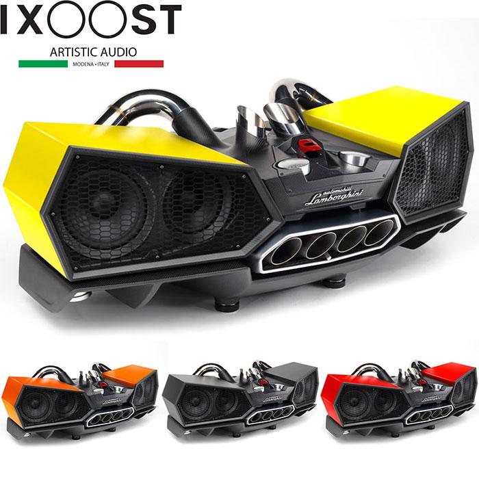 予約/受注発注【イグゾースト/iXOOST】ESAVOX for Automobili Lamborghini スピーカー ランボルギーニ アヴェンタドール Bluetooth イタリア ハンドメイド ランボルギーニ・オフィシャル公認アイテム