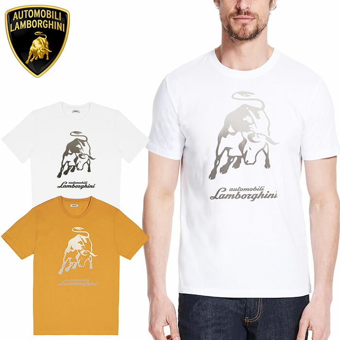 トップス, Tシャツ・カットソー LamborghiniBIG BULL T MENS SS BIG BULL T-SHIRT 6OT
