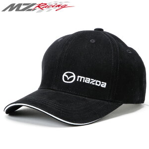 【MZレーシング/MZRacing】マツダオーストラリア マツダロゴキャップ ベースボールキャップ ロゴ 刺繍 Zoom Zoom