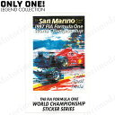 Motorimodaで買える「【ONLY ONE LEGEND COLLECTION】San Marino 1997 Formula One World Championship ステッカー」の画像です。価格は2,200円になります。