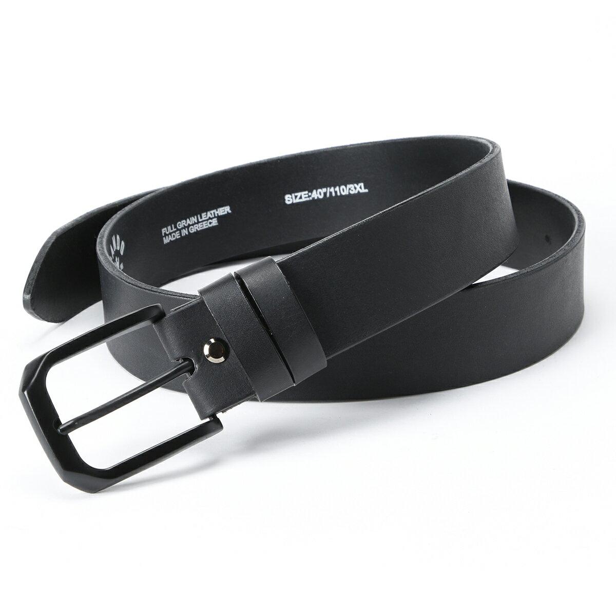 ベルト・サスペンダー, メンズベルト  PANDO MOTOHIMO 2 - Full Grain Leather Belt