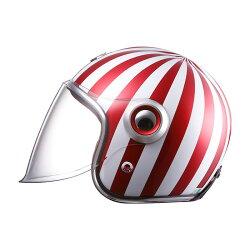 【ルビー/Ruby】ベルベデーレガブリエルBELVEDEREGabrielバイクヘルメットジェットタイプカーボン製【プレゼントギフト】