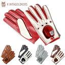 【ヴィンテージラバーズ/VINTAGELOVERS】ツートーン インポート グローブ ドライビンググローブ イタリア製 手袋